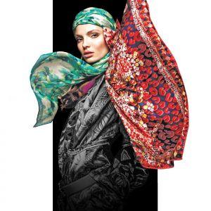 خرید شال و روسری متناسب با رنگ پوست
