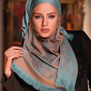 انتخاب روسری و چند مدل روش بستن روسری+فیلم