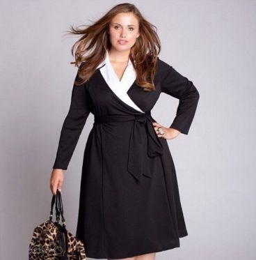اصول خوش لباسی برای خانم های چاق