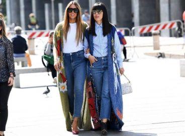 ست کردن شلوار جین با لباسهای پاییزی