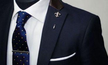 نحوه استفاده صحیح از گیره و سنجاق کراوات
