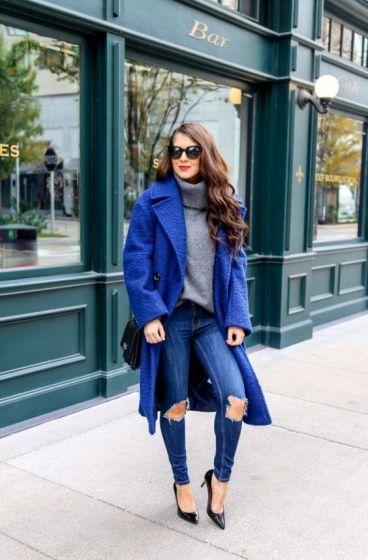 راهنمای ست کردن لباس با رنگ آبی کلاسیک